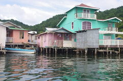 Oak Ridge on east side of Roatan Stock Image