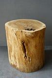 Oak stump natural oil Royalty Free Stock Photos
