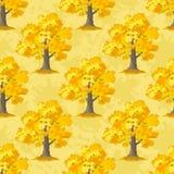 Oak Trees Seamless Stock Images