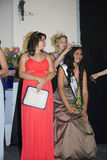 Oak View, California, USA, March 7, 2015, Miss Oak View Pageant of Excellence, Crowned winner of Teenage Beauty Contest Royalty Free Stock Photos