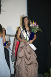 Oak View, California, USA, March 7, 2015, Miss Oak View Pageant of Excellence, Crowned winner of Teenage Beauty Contest Royalty Free Stock Images