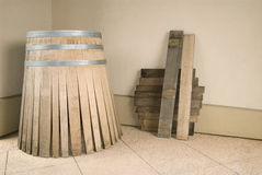 Oak wine barrel  Stock Images