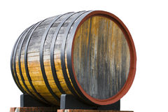 Oak wine barrel Royalty Free Stock Photos