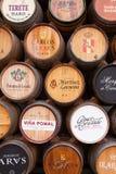 Oak Wine Barrel Display, Haro, La Rioja Royalty Free Stock Photo