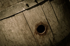 Oak Wine Barrel Royalty Free Stock Photo