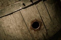 Oak Wine Barrel Royalty Free Stock Photo