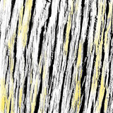 Oak wood black, white and yellow texture from bark Stock Photo