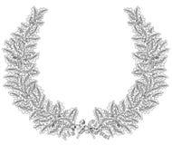 Oak wreath Royalty Free Stock Photos