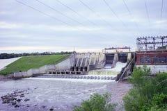 Oakdale水坝 免版税图库摄影