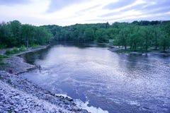 Oakdale-Fluss Lizenzfreies Stockbild