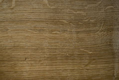 Oaken Board. A rough surface of the oaken board Royalty Free Stock Images