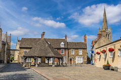 Oakham in the county of Rutland Stock Photo