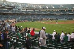 Oakland Alameda County Coliseum Stock Image