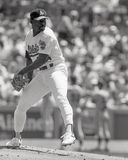 Oakland Athletics Ace, Dave Stewart Lizenzfreies Stockbild