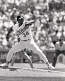 Oakland Athletics Ace, Dave Stewart Stockbild
