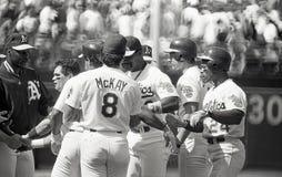 Oakland Athletics 1990 do ` s imagem de stock royalty free