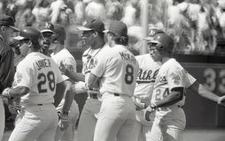 Oakland Athletics 1990 do ` s foto de stock