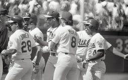 Oakland Athletics 1990 för ` s arkivfoto