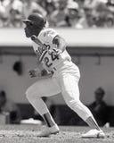 Oakland Athletics LF Rickey Henderson #24 imagens de stock