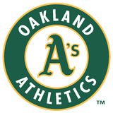Oakland athletics MLB club Stock Image