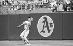Oakland Athletics RF Lance Blankenship imagens de stock royalty free