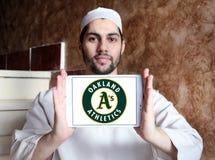 Oakland Athleticsbasketlaglogo royaltyfri foto