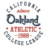 Oakland atletica Immagine Stock