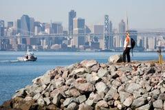 Oakland Bay Bridge Royalty Free Stock Photos