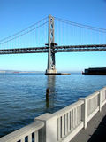Oakland Bay Bridge. San Francisco, Calif royalty free stock image