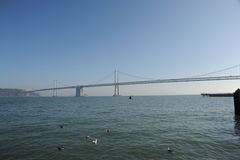 Oakland Bay Bridge Royalty Free Stock Photo