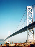 Oakland Bay Bridge royalty free stock image