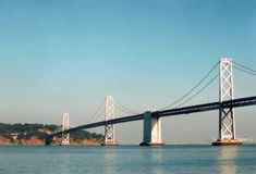 Oakland Bay Bridge Royalty Free Stock Photography