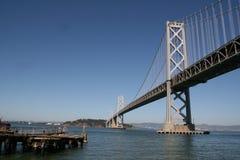 Oakland bay bridge. Stock Photos