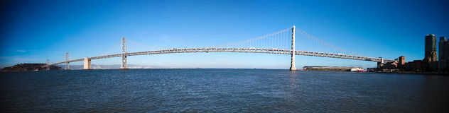 Oakland Bay Bridge Royalty Free Stock Images