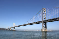 Oakland Bay Bridge in San Francisco Stock Photo