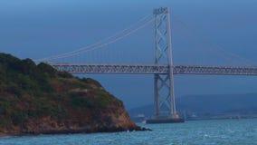 Oakland Bay Bridge San Francisco, California stock video