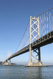 Oakland Bay Bridge in San Francisco, California Royalty Free Stock Photography