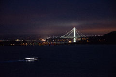 Oakland Bay Bridge San Francisco Stock Images