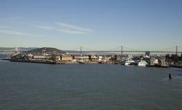 Oakland Bay Bridge and San Francisco Stock Images