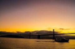 Oakland-Brücke Stockbilder
