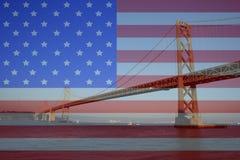 Oakland Bridge Royalty Free Stock Photos