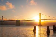 Oakland bridge Royalty Free Stock Photography