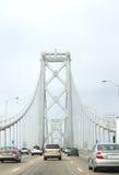 Oakland Bridge Traffic Royalty Free Stock Photos