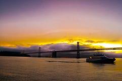 Oakland bro Fotografering för Bildbyråer