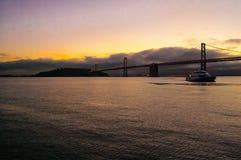 Oakland bro Royaltyfri Fotografi