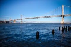 Oakland-Bucht-Brücke lizenzfreies stockfoto