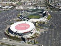 OAKLAND, CA, USA-Oakland-Alameda County Coliseum Royalty Free Stock Image