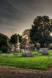 Oakland Cemetery Stock Photography