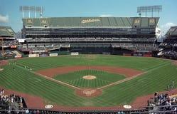 Oakland Coliseum A's Baseball Stadium Royalty Free Stock Photos