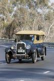 1927 Oakland 6-54D Tourer driving on country road. Adelaide, Australia - September 25, 2016: Vintage 1927 Oakland 6-54D Tourer driving on country roads near the Stock Photo